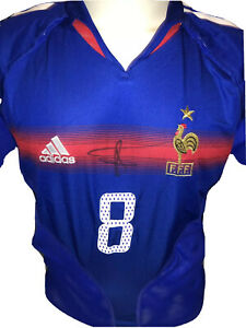 Signed Adidas Marcel Desailly France Home Shirt