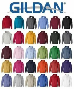 Gildan Heavy Blend Pullover Hoodie Basic Fleece Hooded Sweatshirt 18500 NEW