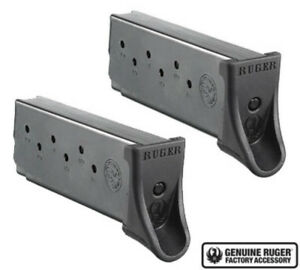 Ruger LC9LC9sEC9s Magazine 9mm 7 Round Factory Mag-Value 2 Pack-90642