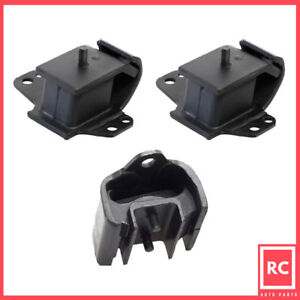 Front Left Right Motor amp; Trans Mount for 95 97 Nissan Pickup 2.4L 2WD $32.00