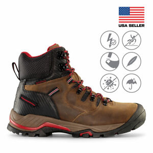 Maelstrom® Zion Men#x27;s 6#x27;#x27; Waterproof Work Boots for Construction Utility Safety