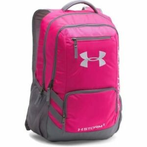 NWT Under Armour Storm1 Team Hustle Backpack PINK