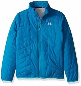 Under Armour Outerwear Girls ColdGear Infrared Wayside 3-in-1 Hoodie Pacific