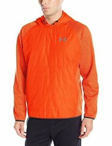 Under Armour Mens Storm Insulated Swacket Hoodie Dark OrangeDark Orange Small