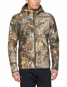Under Armour Mens Stealth Fleece Hoodie Realtree Ap-XtraBlack XX-Large