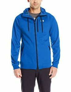 Under Armour Outerwear Mens CGI Dobson Softshell Hoodie 3X-Large Ultra Blue