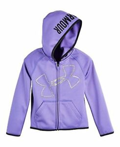 Under Armour Girls' UA Logo Zip Hoodie - Choose SZColor