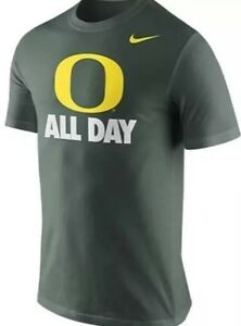 New Nike Oregon Ducks Dry Fit T-Shirt O All Day Green Youth XL