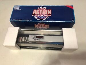 1995 Kyle Petty AUTOGRAPH SIGNED Dually Show Trailer Silver Bullet 1:64 Die cast