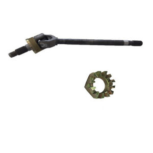 New Axle Shaft Front Left Hand Drivers Side With Nut Dodge RAM 1500 OR RAM 2500