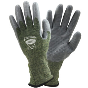 Ironcat® Metal Tamer™ Silicone Palm Tig Welding Gloves Cut Resitant A3 Size S 2X $19.90