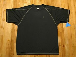 Champion Mens Compression Shirt 2XL Double Dry Blue Athletic Fitness Exercise