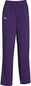 Under Armour Womens Pre-Game Woven Pant (S Purple)