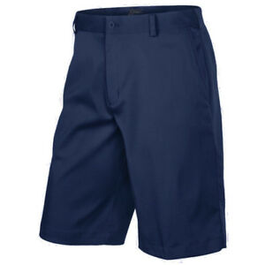 Men's Nike Golf Dri-Fit Flat Front Tech Shorts NEW Navy (551808-419)  MSRP $65
