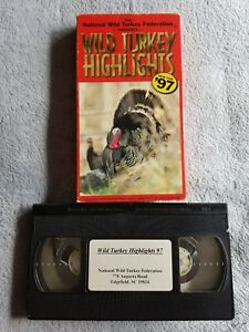 Wild Turkey Highlights #x27;97 1997 VHS Tape Hunting National Federation