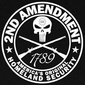 2nd Amendment 3% III 3 Percenter 1789 Sticker Decal Merica 2A Gun Rights Freedom
