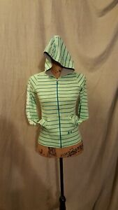 girls green UNDER ARMOUR hoodie jacket sizr YLG