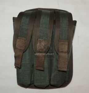 POUCH FOR 3x SUBMACHINE GUN MAGAZINES FORT DEFENDER-2 RUSSIAN FSB ALFA VYMPEL