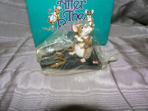 AFTER THE PARTY MOUSE FIGURINE~WRAPPED IN SOUND~LIMITED EDITION~MICE ON CASSETTE