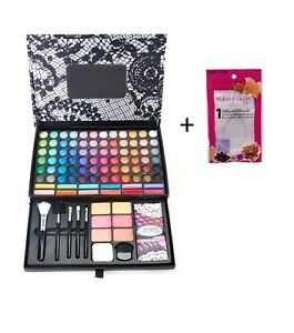KleanColor® 72 Colors & 25+ items (Lip Gloss Brushes..) + FREE Silicone Blender