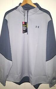 Under Armour Golf Infrared 12 Pullover Jacket: 2XL (NWT) 1281272-025 Gray