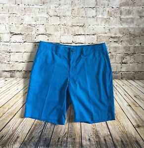 Callaway Golf Apparel Opti Stretch Shorts in Blue Men's Size 34