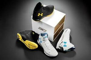 UNDER ARMOUR CURRY ONE CHAMPIONSHIP PACK SIZE 9.5 DS 1287487-100