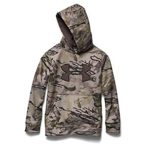 Under Armour Youth Camo Big Logo Hoody Large