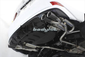 CARBON FIBER XE30 AIMGAIN STYLE REAR LIP (DUAL EXHAUST) FOR 13- IS F-SPORT