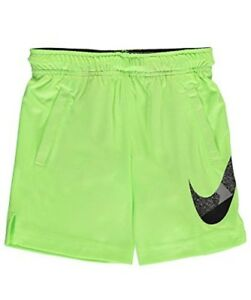 NIKE Little Boys Dri-Fit Shorts (Sizes 4-7) - Ghost Green 5