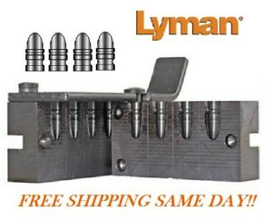 Lyman 4 Cavity Pistol Bullet Mold for 38357 cal RN 160 Grain # 2670311  New!
