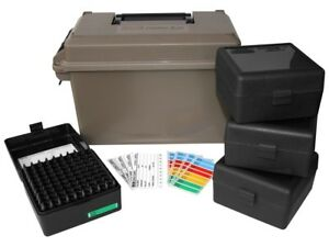 MTM Ammo Can Combo Plastic Dark Earth with 4 Flip-Top Ammo ACC223