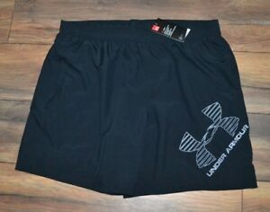 Under Armour Quick Dry Shorts Loose Fit Heat Gear Performance Short Black