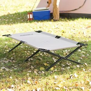 Military Folding Bed Guest Cot Camping Coleman Portable Outdoor Sleeping Hiking
