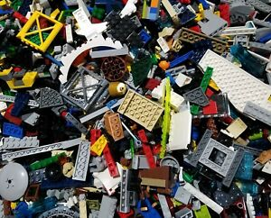 Lego Lot of 200 Pieces Parts Bricks Random From Huge Bulk Assorted Clean Pieces $13.59