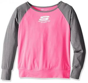 Skechers Big Girls' Sport Long Sleeve T-Shirt