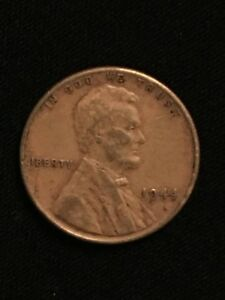 1944 Lincoln wheat penny US CENT Copper PENNY **FREE SHIPPING**