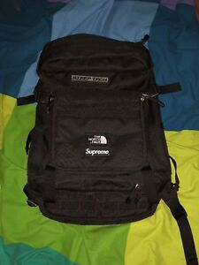 Supreme North Face Steep Tech Backpack Black SS16 TNF used lightly RARE!