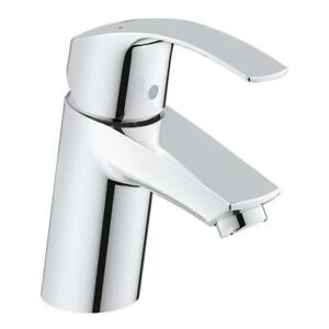 GROHE Eurosmart New Single Hole Single-Handle Low-Arc Bathroom Faucet