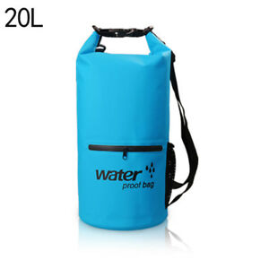 1020L PVC Waterproof Dry Bag Sack for Canoe Floating Boating Kayaking Camping
