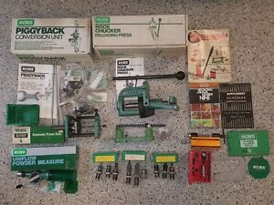 USED RCBS Reloading Press Piggyback Progressive 5-Stage kit and much more!!