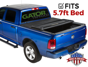 Gator ETX Tri-Fold (fits) 2019 and Up Dodge Ram 5.7 FT Tonneau Bed Cover No RB
