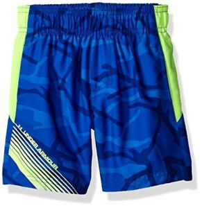 Under Armour Little Boys Printed Volley Swim Shorts Ultra Blue 6