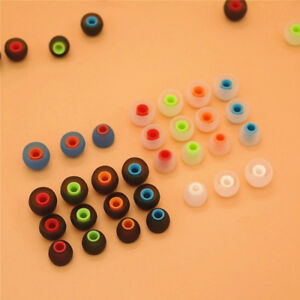 2PCS Silicone In-ear Earphone Cover Earbud Earplug Replacement Headset Accessory