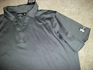 UNDER ARMOUR New NWT Womens Polo shirt Gray Loose Fit 2XL XXL