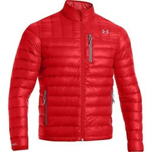 Under Armour UA ColdGear Infrared Turing Jacket - Mens Risk Red  Steel XL