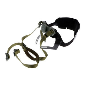 MICHACHIBH Tactical Helmet Chin Strap with Bolts Screws Army Green