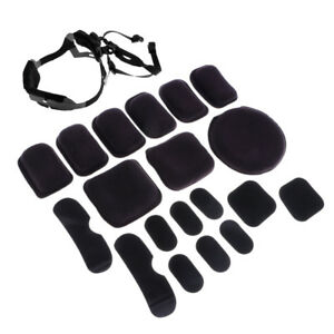 MICH Helmet Retention Systems H-Nape Strap & Helmet Tactical Protective Pads