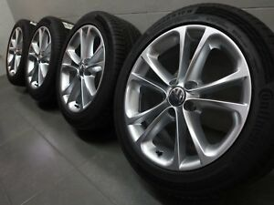 17 Inch Original Summer Wheels VW Scirocco Passat B7 cc Eos Spa Design