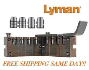 4 Cavity Pistol Bullet Mold for 40 S&W 10mm MTRC 175 Grain Lyman # 2670638  New